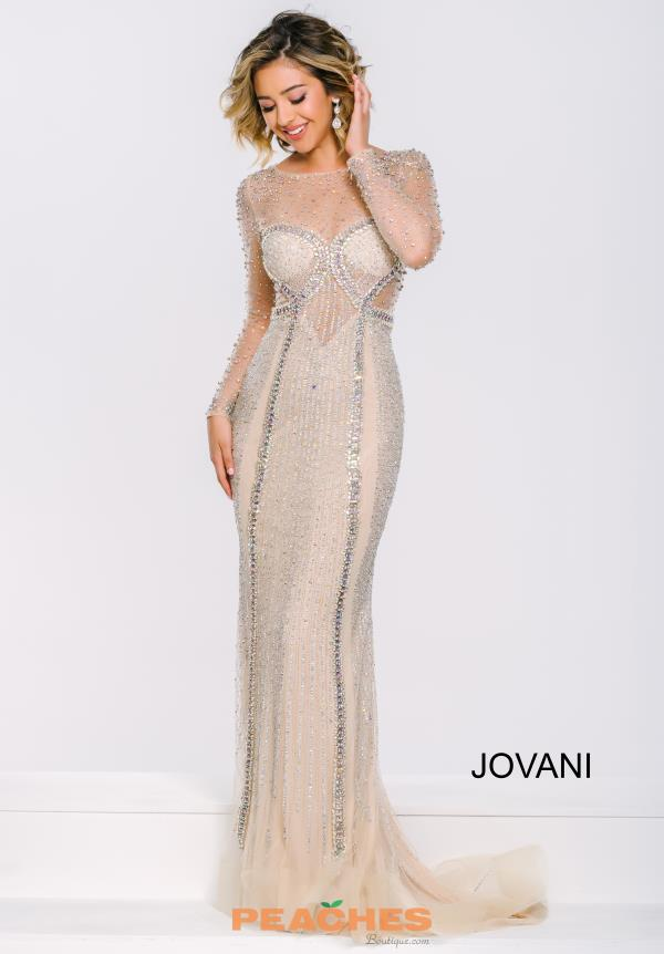 Jovani Long Fitted Dress 39844