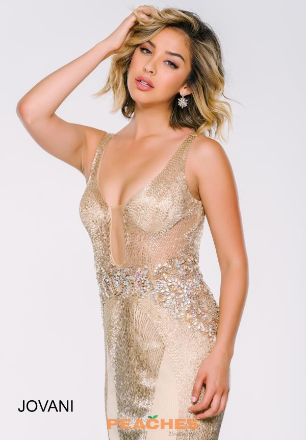 Jovani Long Sequins Dress 40061