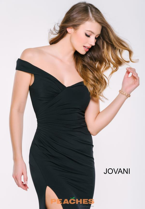 Cap Sleeved Fitted Jovani Dress 40582