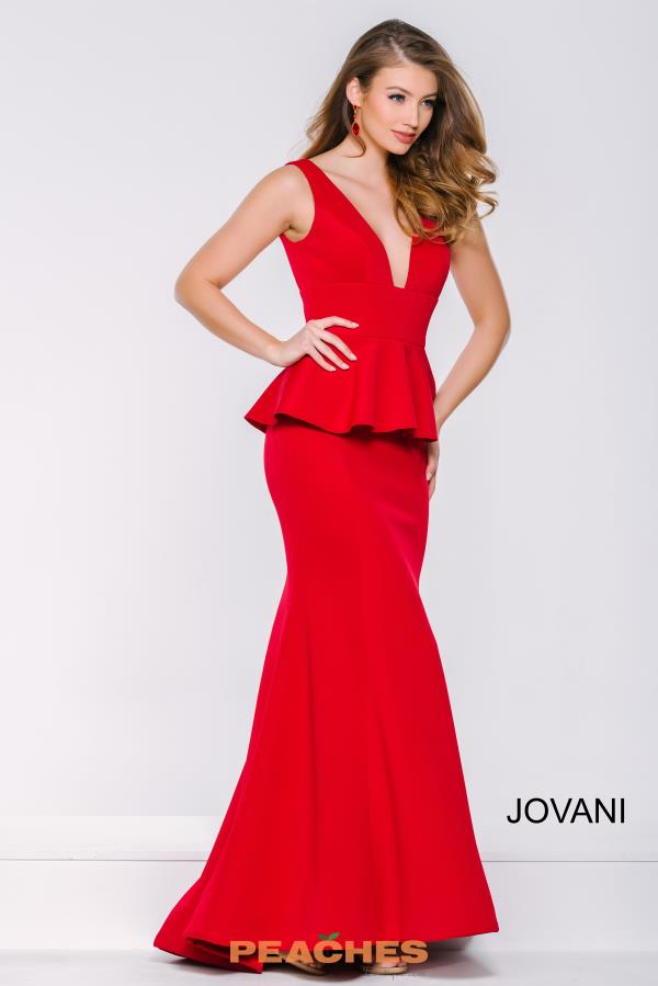 Long Fitted Jovani Dress 41952