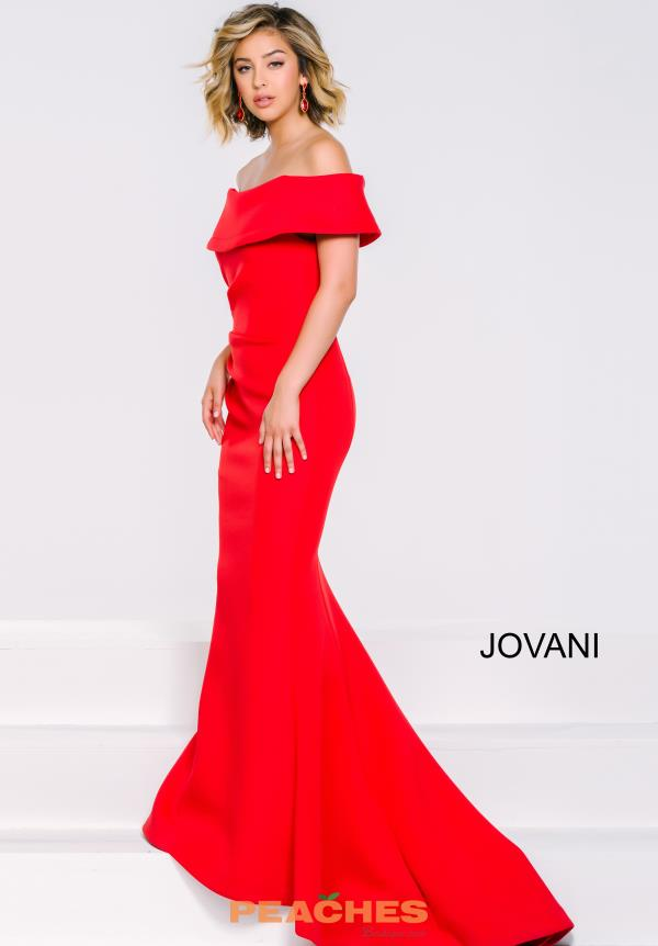 Cap Sleeved Fitted Jovani Dress 42756