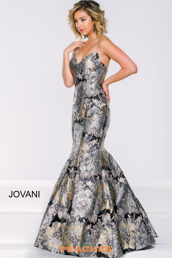 Jovani Mermaid Print Dress 42866