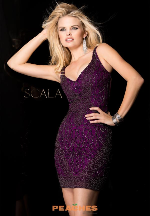 Scala Two Straps Beaded Dress 48561