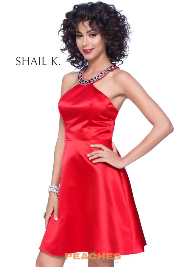 Short A Line Shail K Dress 4012