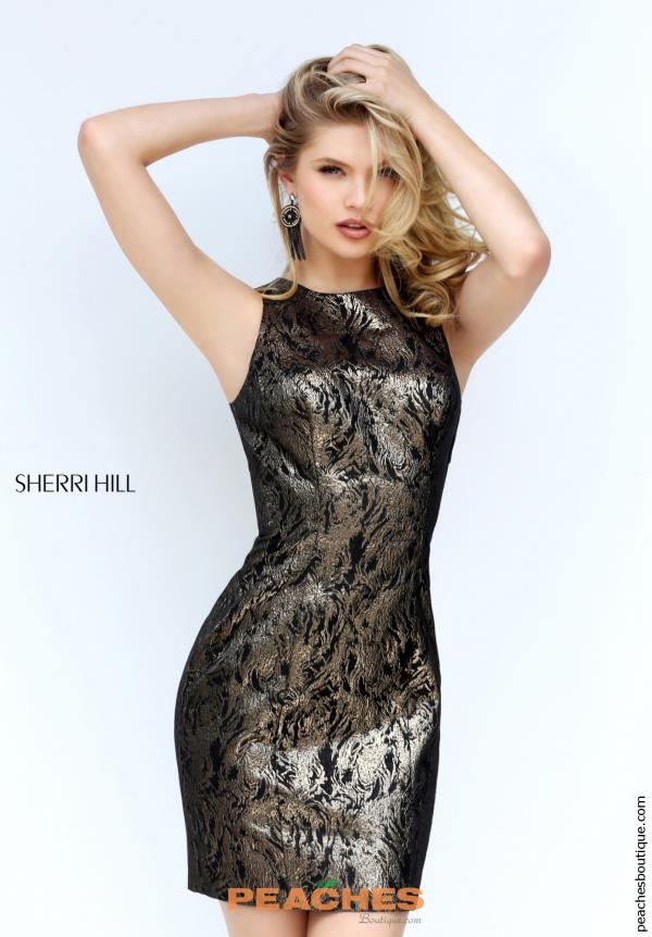 Sherri Hill Short Fitted Dress S50670