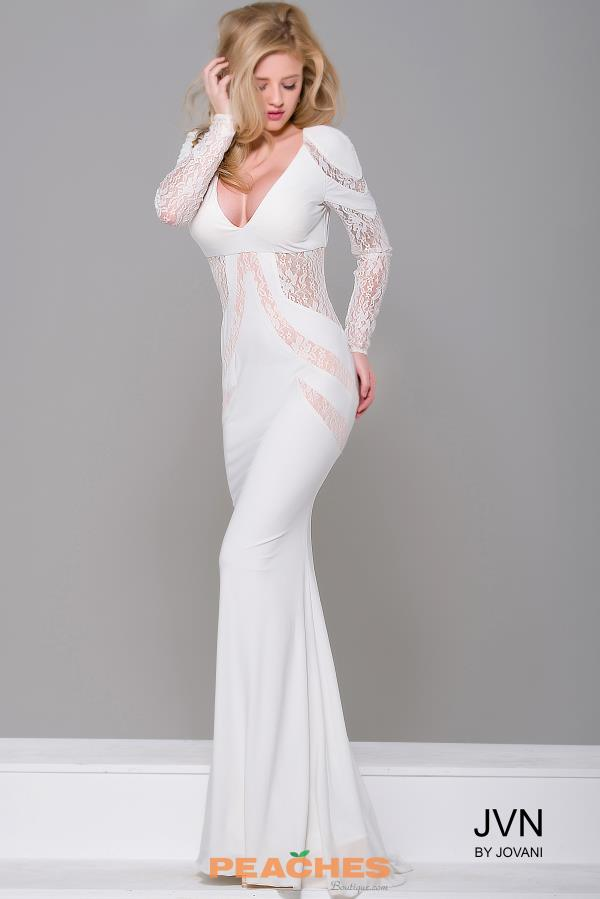 JVN by Jovani Long Sleeved Dress JVN32910