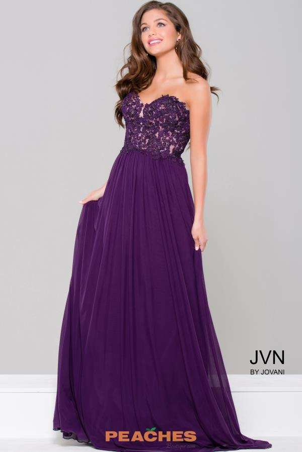 JVN by Jovani Sweetheart Neckline Lace Dress JVN41461