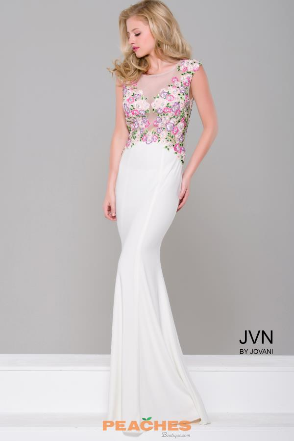 Long Jersey JVN by Jovani Dress JVN41547