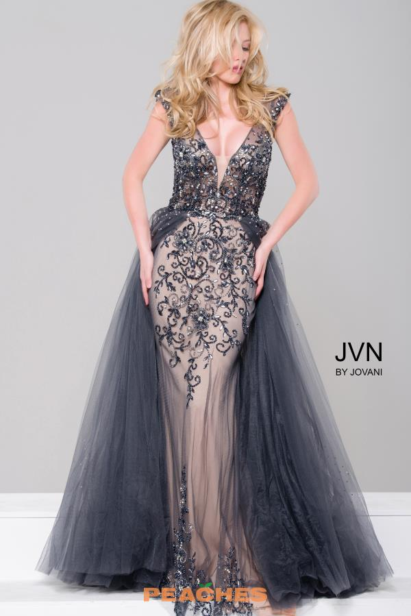 JVN by Jovani Fitted Long Dress JVN46081