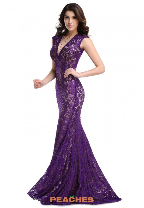 Romance Couture Lace Long Dress RM1418