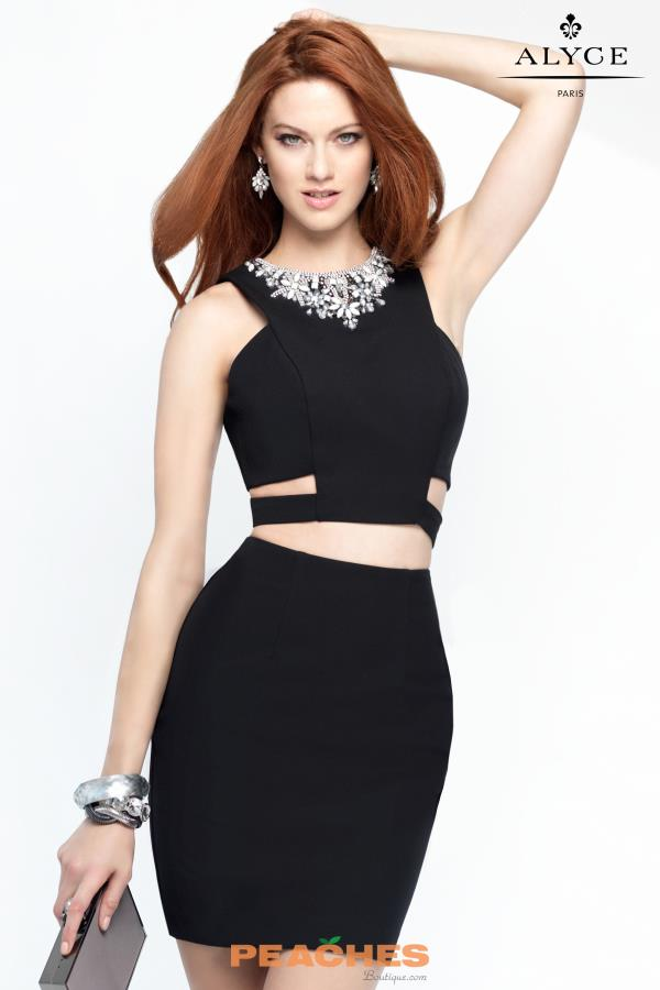 Two Piece Alyce Short Dress 4452