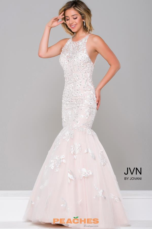 Jovani Lace Mermaid Dress 45745