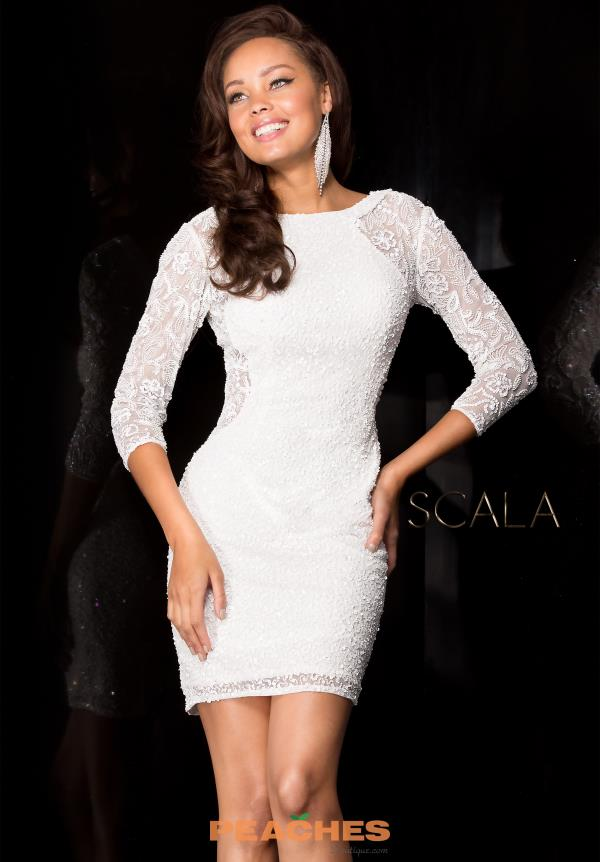 Scala Short Fitted Dress 48642
