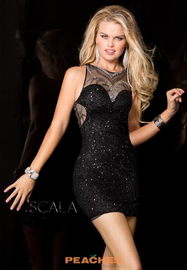 Sequins Fitted Scala Dress 48651