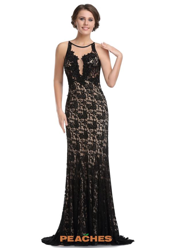 Romance Couture Lace Fitted Dress RM6027