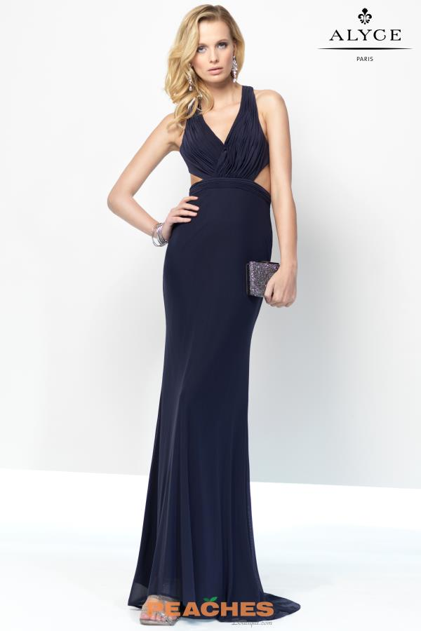 B'Dazzle Open Back Jersey Dress 35771
