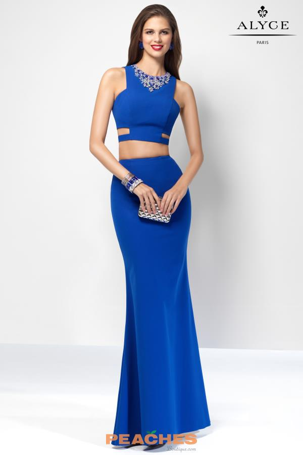 B'Dazzle Two Piece Fitted Dress 35825