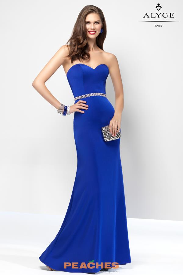 B'Dazzle Strapless Fitted Dress 35826
