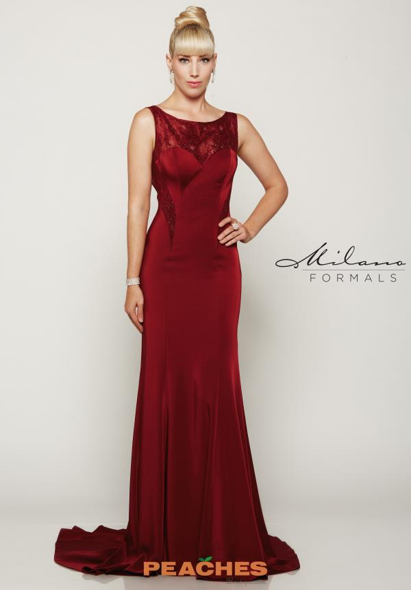 Sexy Open Back Milano Formals Dress E2042