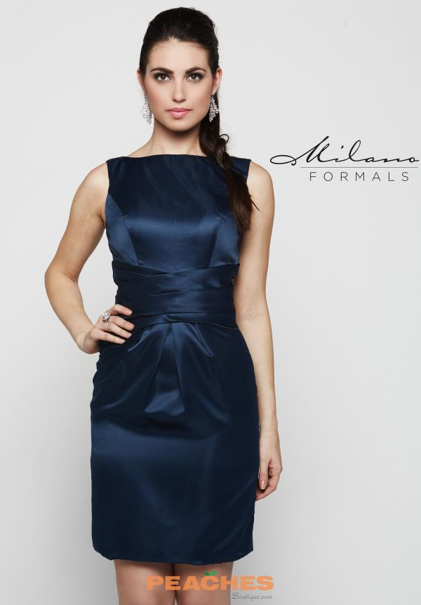 Milano Formals Short Fitted Dress E2081