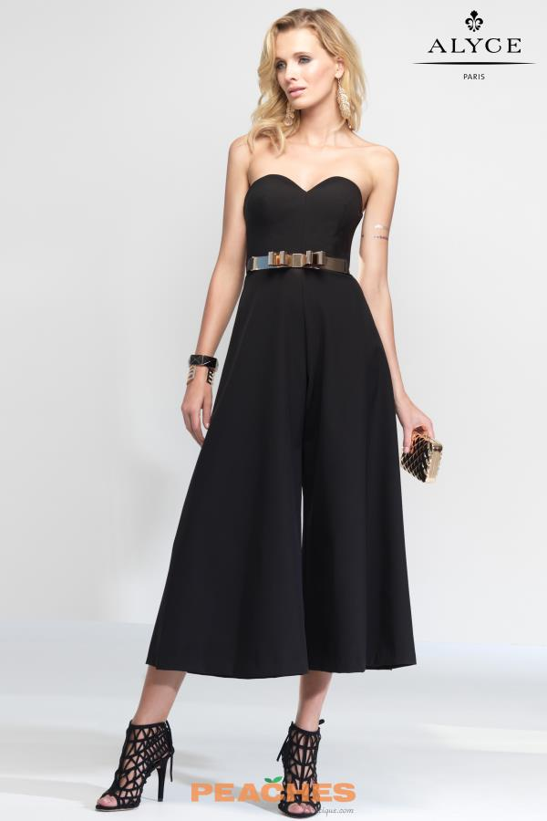 Strapless Long Alyce Paris Dress 2575