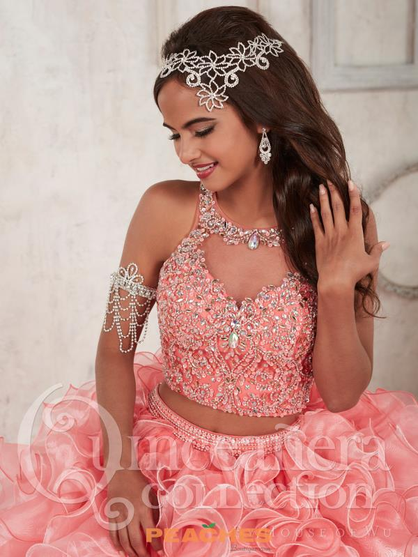 Tiffany Two Piece Beaded Quinceanera Dress 26830