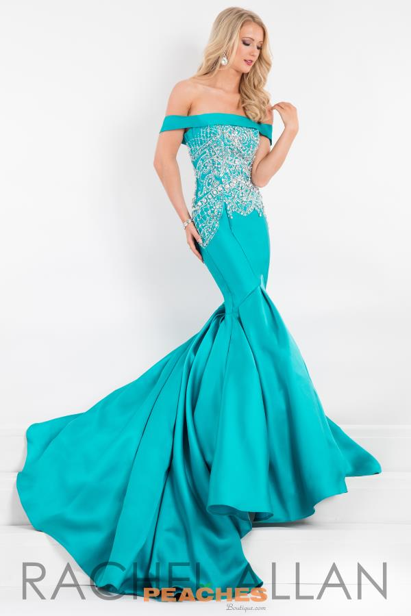 Prima Donna Pageant Beaded Long Dress 5890
