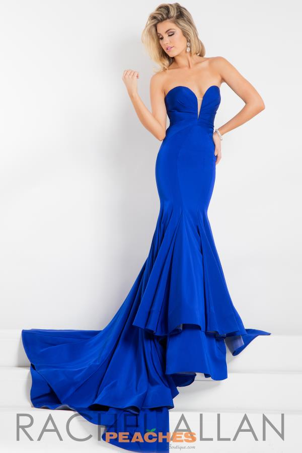 Prima Donna Pageant Long Fitted Dress 5893