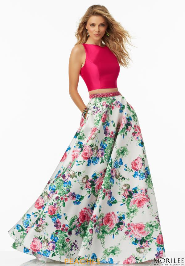 Mori Lee Two Piece A Line Dress 99003
