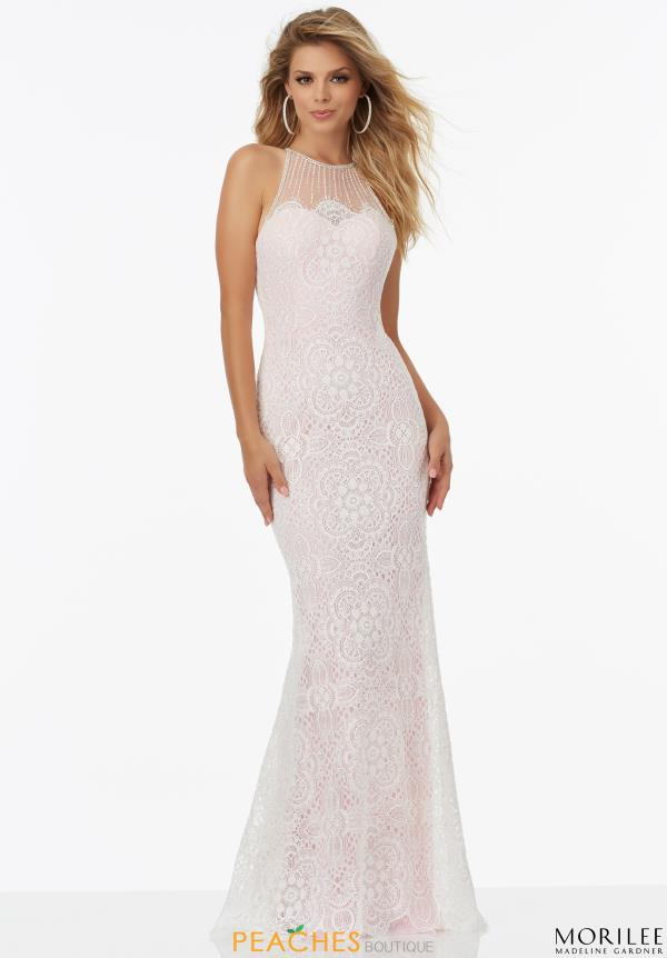 Mori Lee Long Fitted Dress 99034