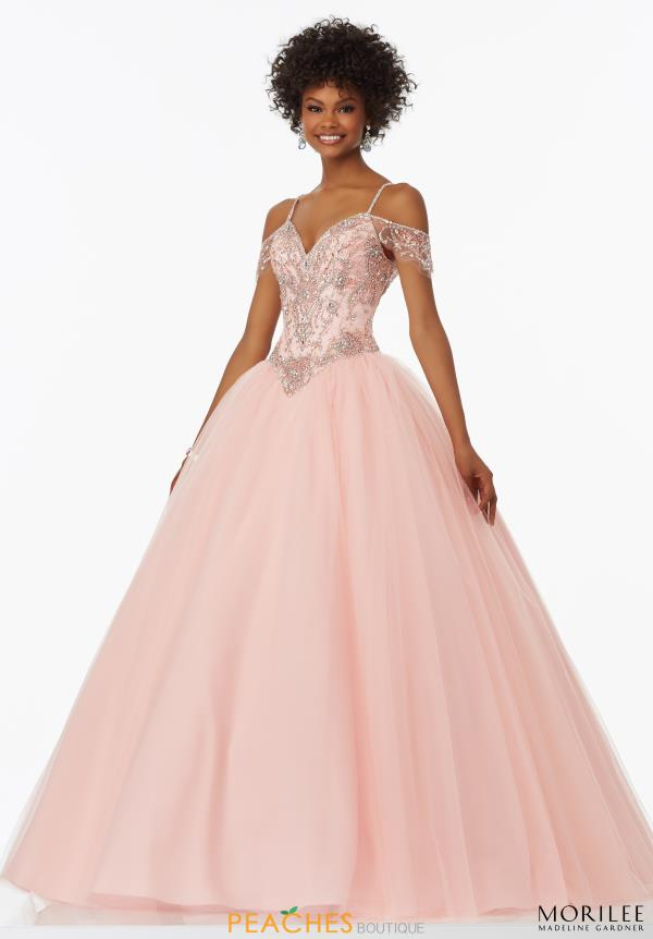 MoriLee Tulle Ball Gown 99040