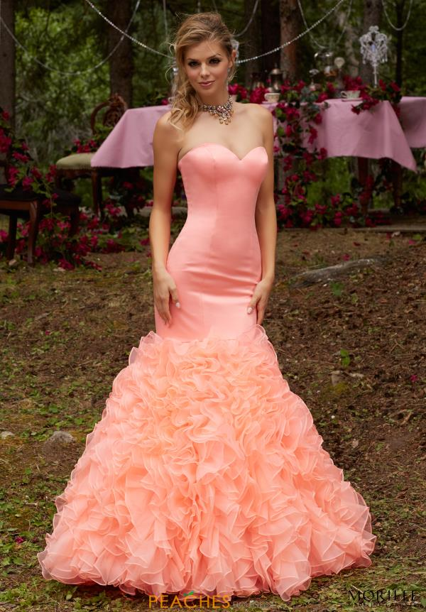 Strapless Mermaid MoriLee Dress 99041