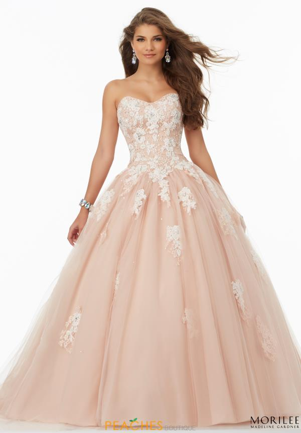 Mori Lee Sweehteart Neckine Ball Gown  99064
