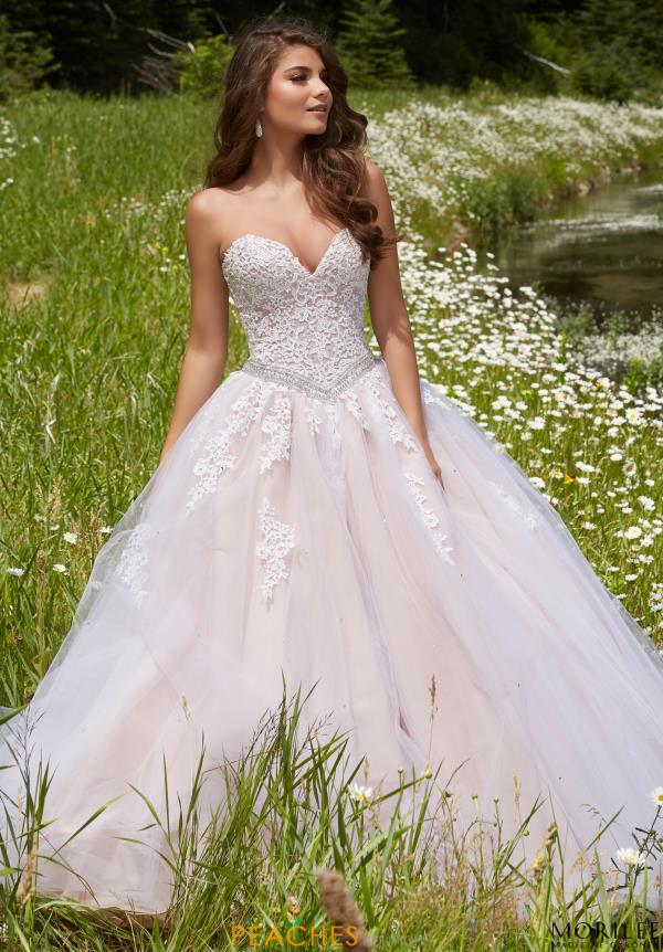 MoriLee Beaded Ball Gown 99114