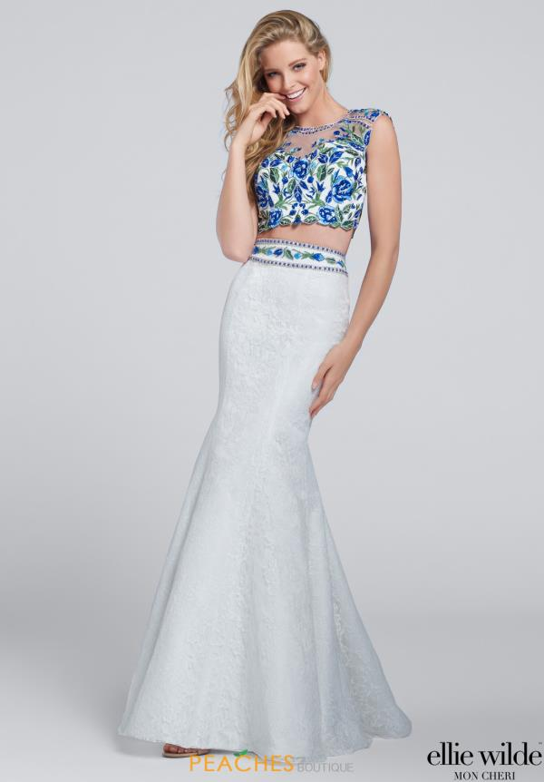 Two Piece Mermaid Ellie Wilde Dress EW117030