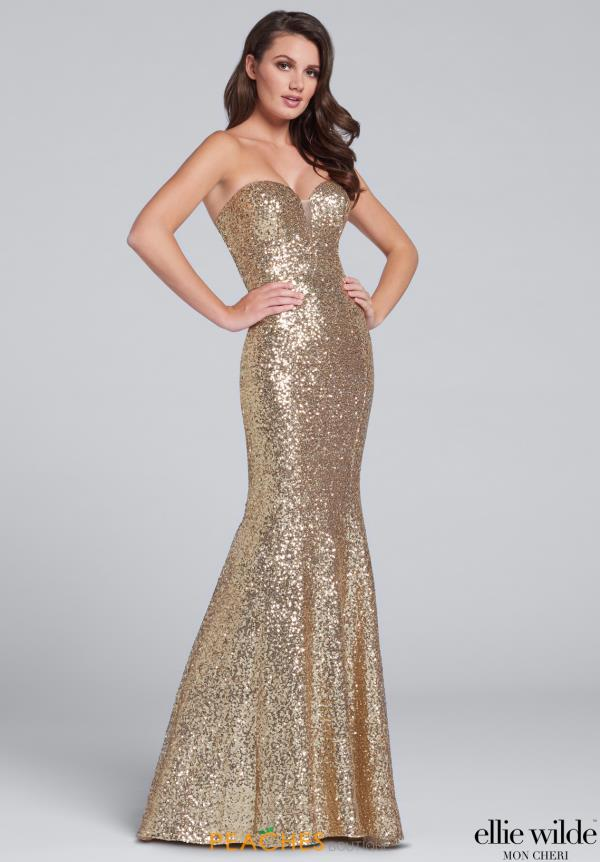 Gold Prom Dresses | Peaches Boutique
