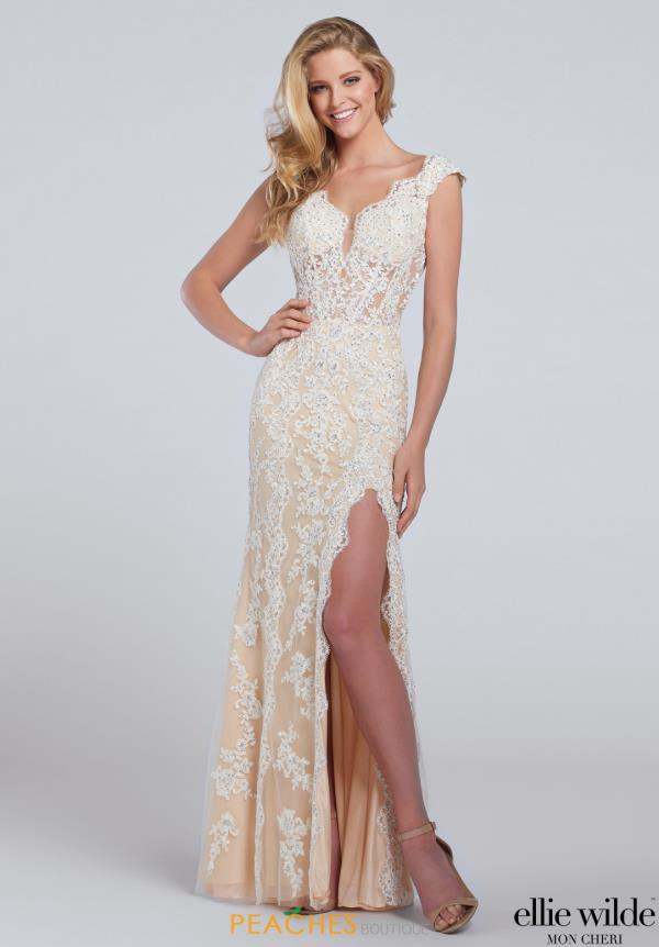 Long Lace Ellie Wilde Dress EW117155