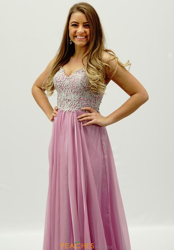 Strapless Beaded La Femme Dress 20888