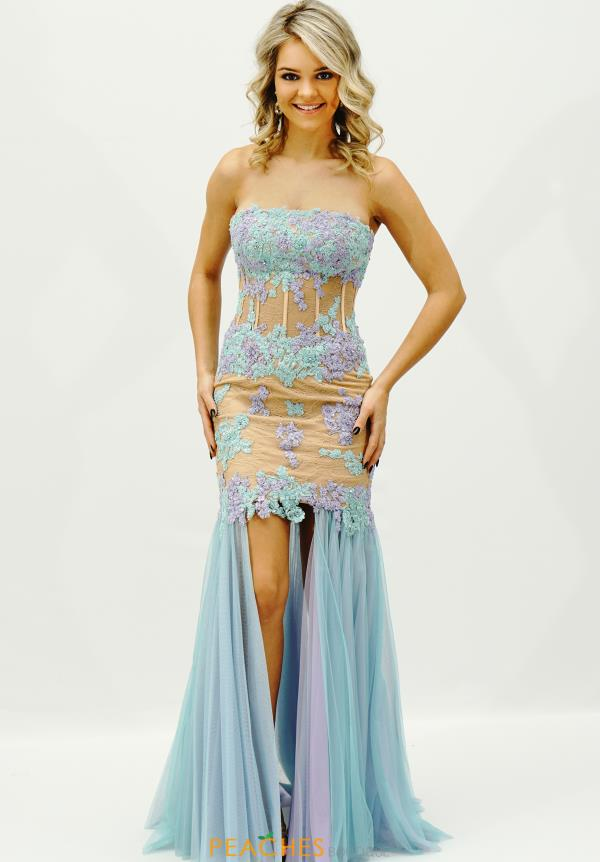 Sherri Hill Corset Bodice Prom Dress 11110