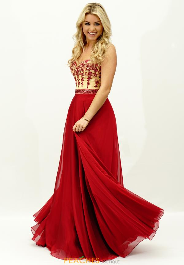 Sherri Hill A Line Flowy Dress 32161