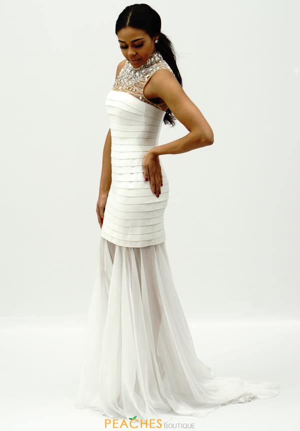 Sherri Hill Bandage Fitted Dress 32293