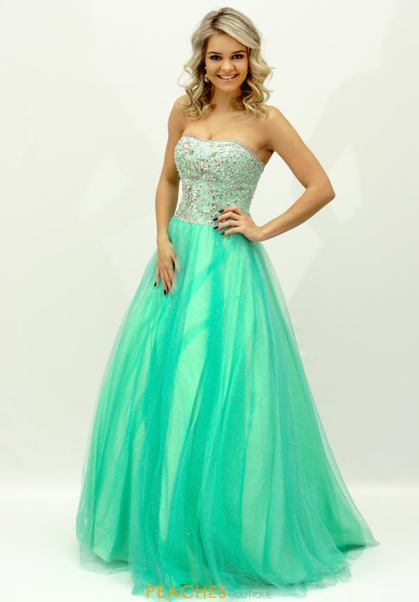 Tiffany Dress 46922EX at Peaches Boutique