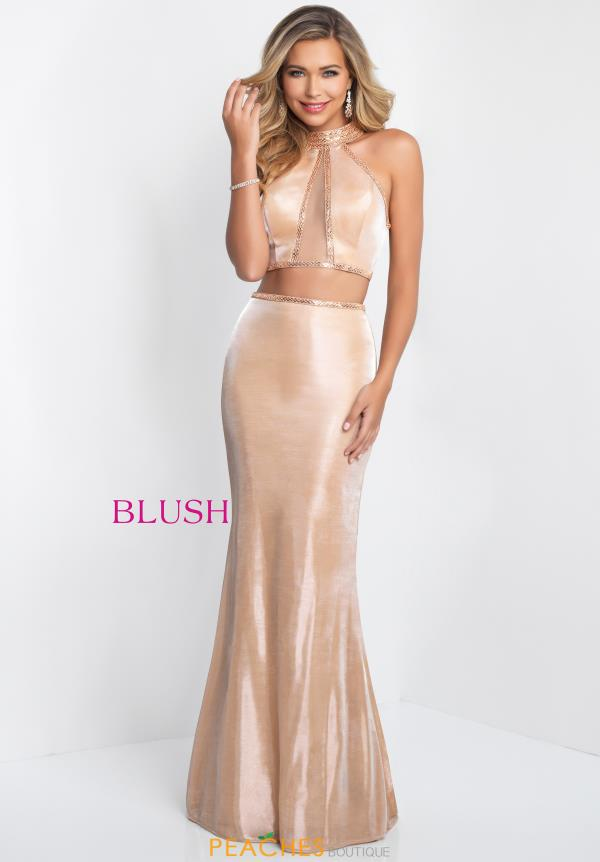 Blush Two Piece Fitted Dress 11524