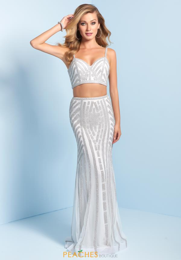 Splash Beaded Two Piece Dress J744