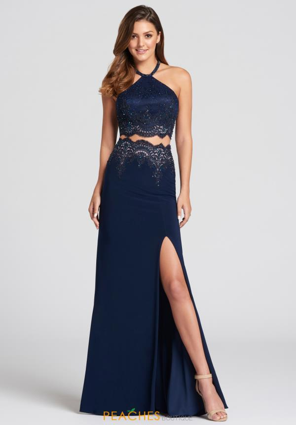 Ellie Wilde Two Piece Halter Dress EW118051