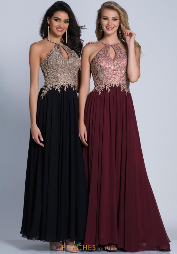 Enchanting A Line Dave and Johnny Prom Dress A5011
