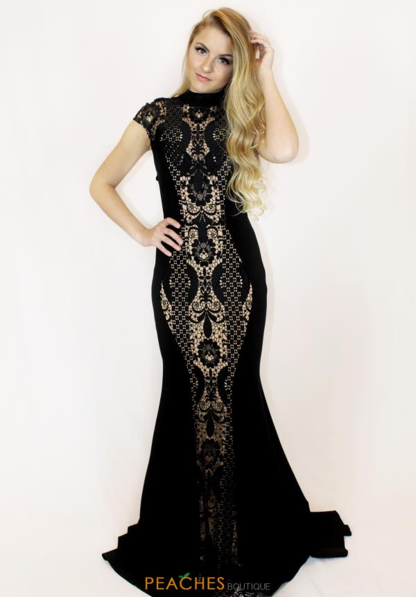 Jovani Jersey Fitted Dress 50727