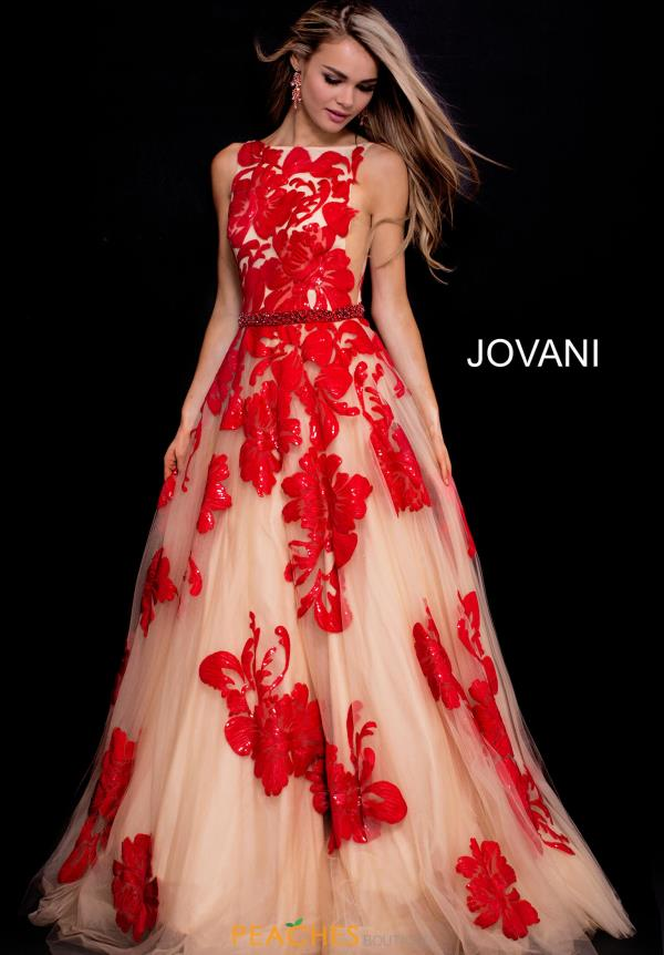 Jovani A Line Tulle Dress 48320