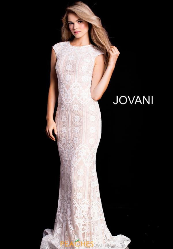 Jovani Cap Sleeve Long Dress 52093