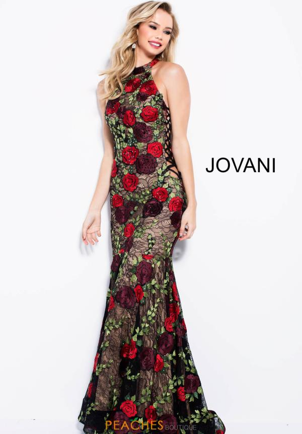 Jovani Long Black Dress 54679